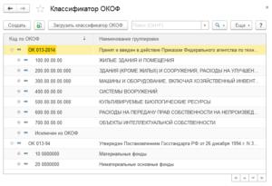Системный Блок Окоф 2020 Амортизационная Группа