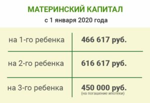 Материнский капитал в беларуси в 2020 году изменения