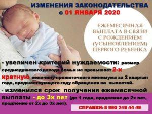 Если Ребенок Родился 31 Декабря 2020 Года Какое Пособие По Рождению Ребенка Полагается Выплатить