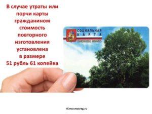 Что Дает Социальная Карта Жителя Московской Области В 2020