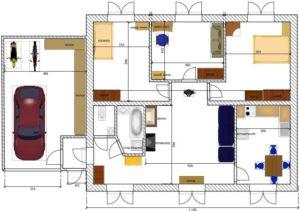 Минимальные размеры комнат в частном доме