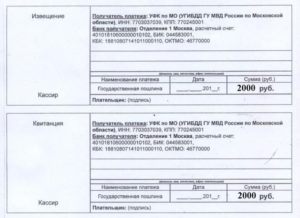 Квитанция На Замену Водительского Удостоверения 2020 Московская Область Скачать Бланк