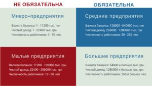 Критерии обязательного аудита в 2020 году для ооо