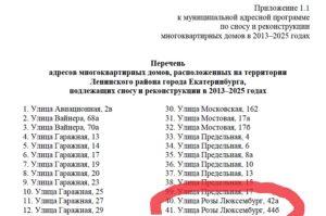 Дома Под Снос В Воронеже Список 2020 Советский Район