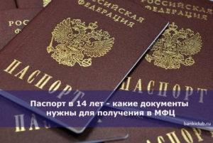 В Каком Году Начали Получать Паспорт С 14 Лет