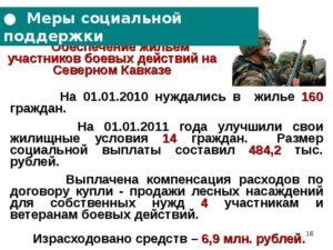 Квартира Участникам Боевых Действий В Чечне