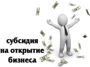 Субсидия На Открытие Малого Бизнеса 2020 Центр Занятости