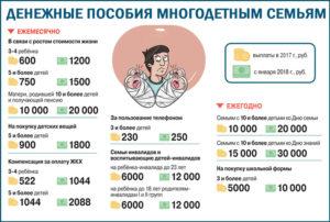 Льготы Для Многодетных Семей В 2020 Году В Новосибирске