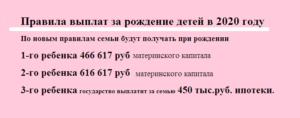 Что Государство Дает За Рождение Третьего Ребенка В 2020 Году В России