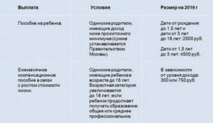 Сколько В Москве Получают Матери Одиночки