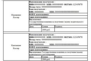 Г омск замена прав как платить госпошлину