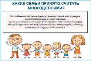 Семья Считается Многодетной До Какого Периода