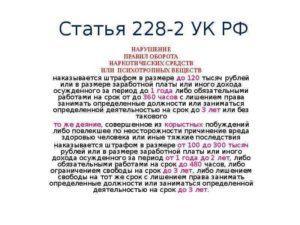 Гуманизация Ст 228 Ч2 В 2020 Году