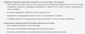 Какие Права Имеет Мать Одиночка На Работе В России По Трудовому Кодексу