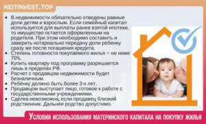 Можно ли купить квартиру у свекрови на материнский капитал