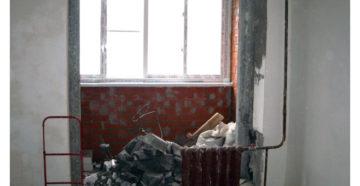 Демонтаж Стены Кухни И Балкона Как Делать