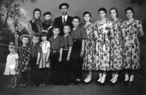 Многодетная семья в советское время