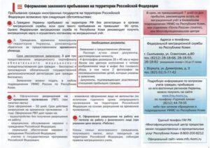 Время пребывания граждан украины на территории российской федерации сроки